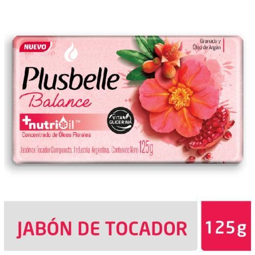 Foto JABON DE TOCADOR BALANCE PLUSBELLE 125GR de