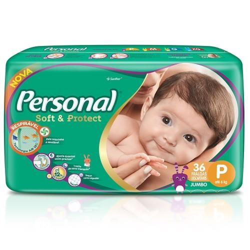 Foto PAÑAL SOFT & PROTECT P JUMBO PERSONAL 36UNID de