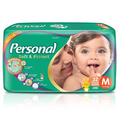 Foto PAÑAL SOFT & PROTECT M JUMBO PERSONAL 32UNID de