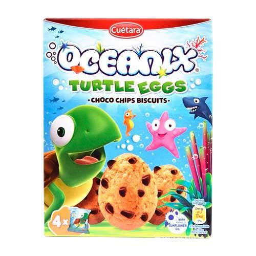 Foto GALLETITAS CHOCO CHIPS TURTLE EGGS OCEANIX 140GR  de